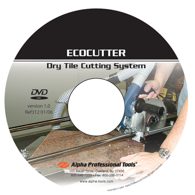 Ecocutter Dry Tile Cutting System Instructional DVD
