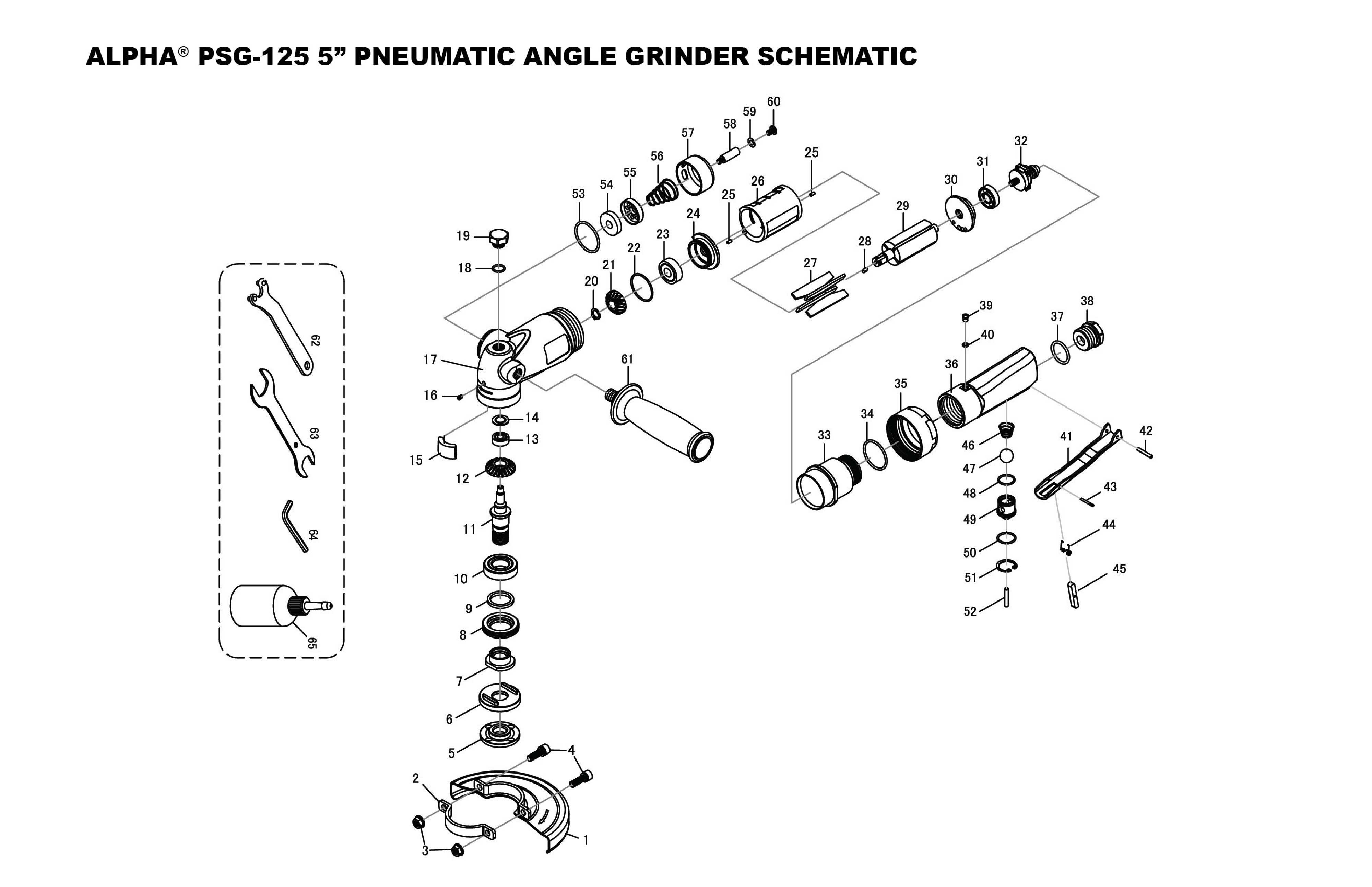 Alpha Professional Tools® :: PSG-125 Diamond Cutting Kit